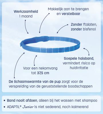 Adaptil junior Halsband -dierenapotheek.nl